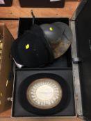 Bowler hat, Policeman's helmet etc.