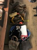 Quantity of furs and handbags