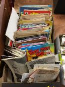 Various comics and ephemera