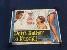 Don't Bother to Knock', 'The Magnificent 7 Deadly Sins', 'A Ravishing Idiot' and 'The Fast Lady' (