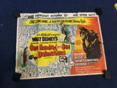 One Hundred and One Dalmatians/Ride a Northbound Horse', 'Seven Brides for Seven Brothers' and '