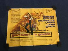 The Victors', 'The Magnificent Showman', 'Silverado' and 'Southwest to Sondra' (4)