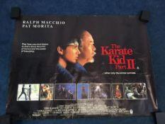 The Karate Kid' and 'The Karate Kid 2' x2 (3)