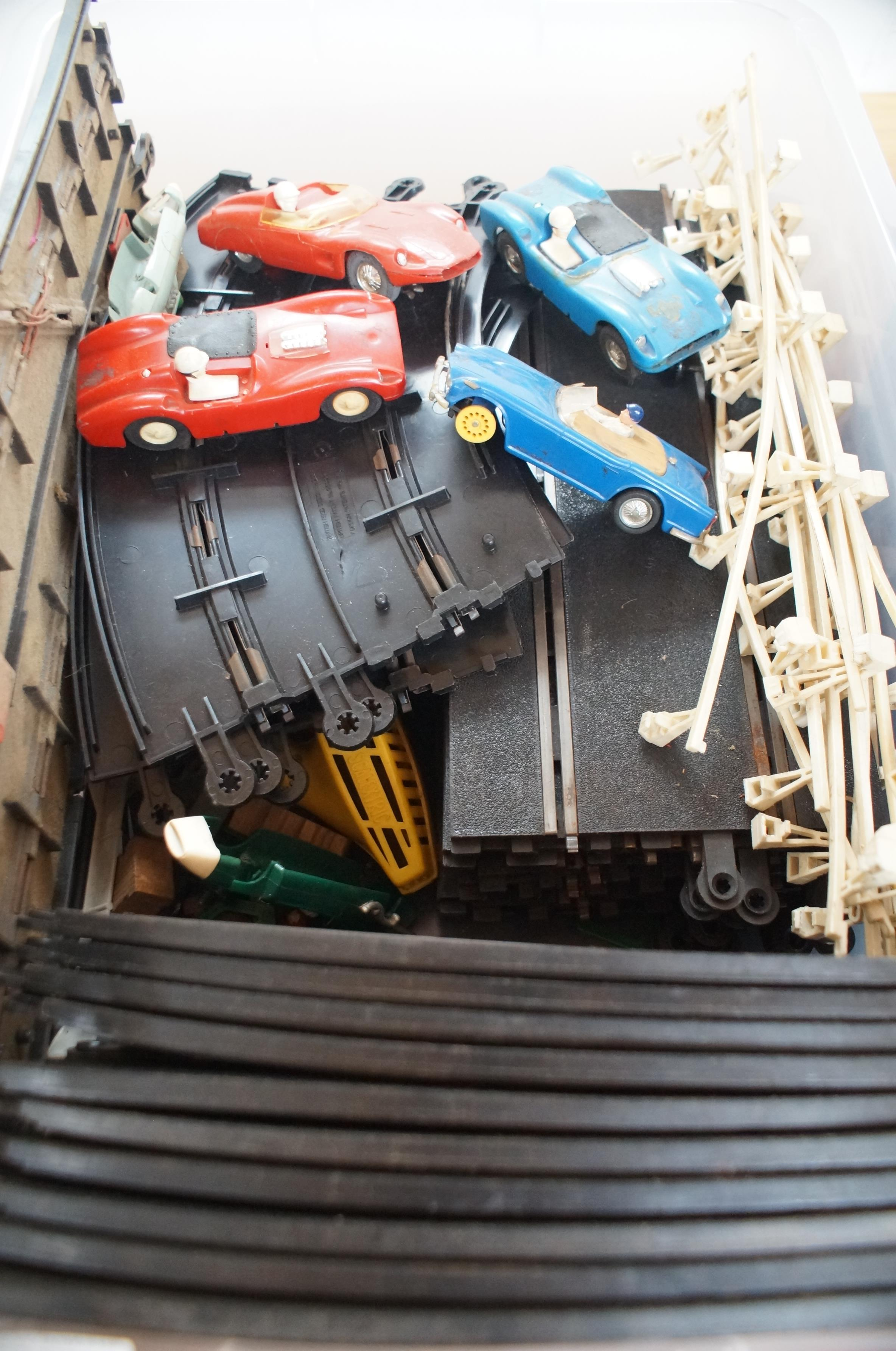 Lot 30 - Early scalextric & track