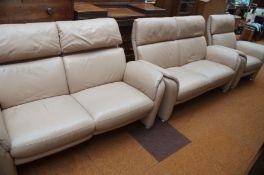 Very good quality designer 3 piece suite 2x 2 seat