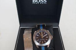 Gents Hugo boss ocean edition wristwatch as new