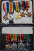 WWI & WWII 9 medal Mackenzi submarine all one man R.N.R WWI Name & No 2677SD J.MACKENZIE D.H. R.N