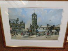 Limited edition print by John L Chapman 'Town gate
