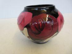 Moorcroft Bella Houston vase Height 11 cm