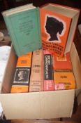 Box of stamp reference books form the 60's & 70's