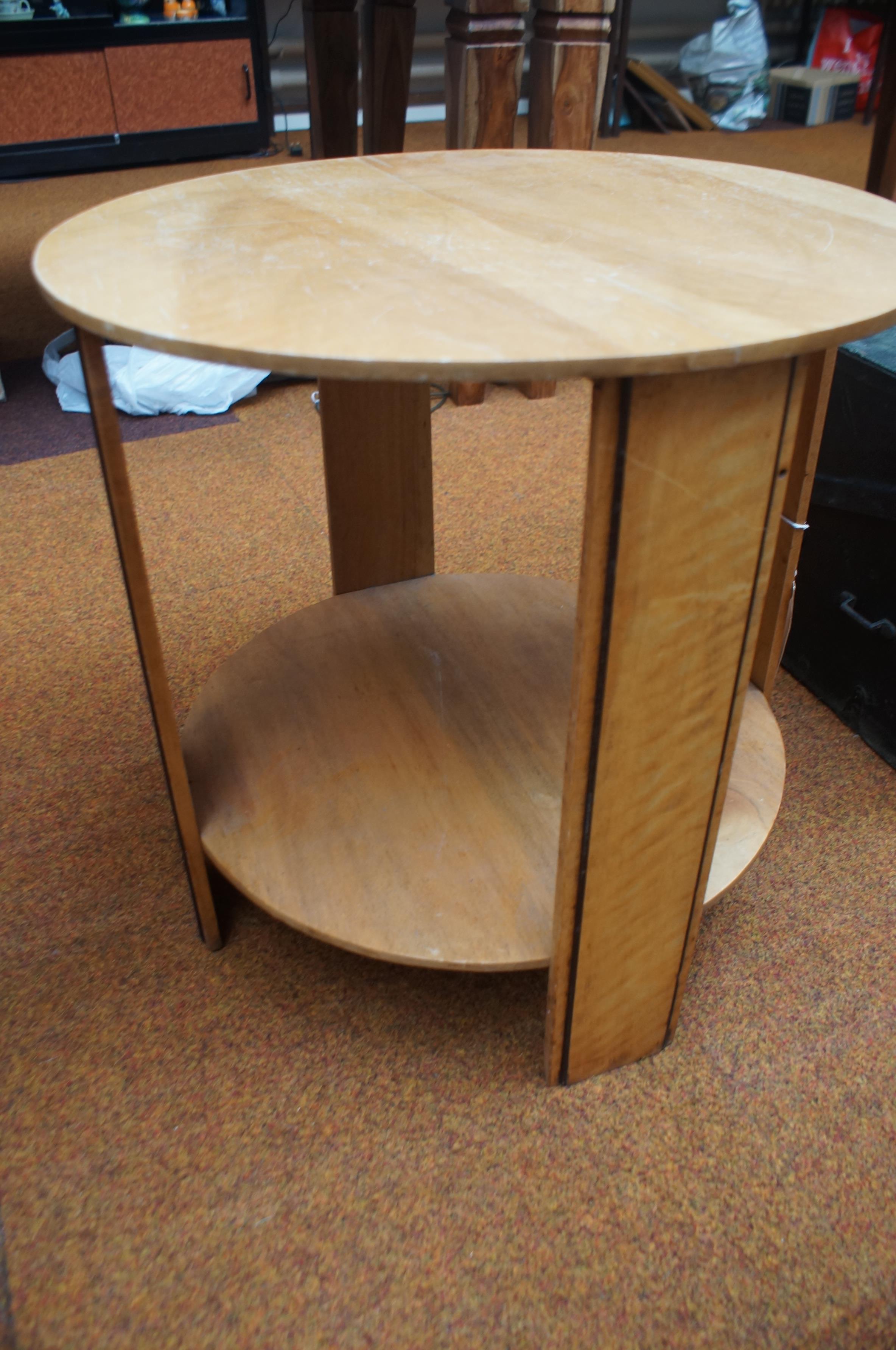 Lot 181 - Retro mid century coffee table