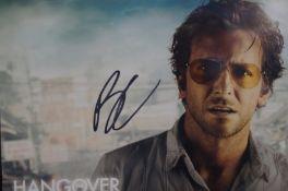 Bradley Cooper autograph coa from vsautographs.com