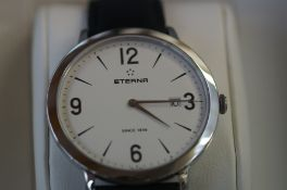 Gents Eterna calendar wristwatch as new