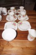 Part Shelley tea set D.11895