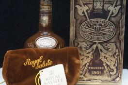 Chivas regal royal salute, 21 year old blended sco