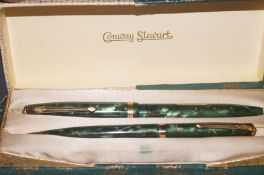 Conway Stuart pencil pen/pencil box set. Fountain