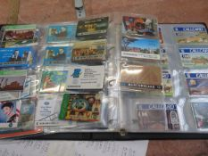 Over 100 phone cards