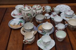 Collection of table ware to include 13 pieces of S