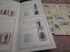 5x Albums of cigarette cards to include some silks