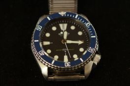 Seiko automatic divers wristwatch 150m