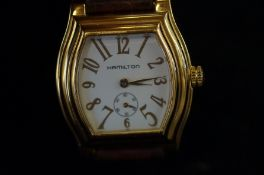 Hamilton gents wristwatch with sub second dial