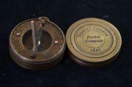 Stanley London pocket compass