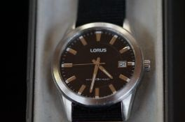 Gents Lorus calendar wristwatch