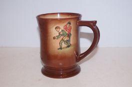 Royal Doulton kingsware tankard sir Francis Drake
