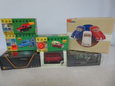 Collection of 7 diecast vehicles