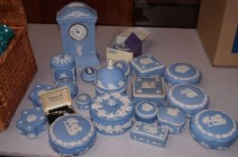 Large collection of Wedgwood jasper ware
