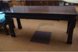 Good quality Chinese style hall table Length 164 c