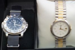 Ladies rotary wristwatch together with a gents fas