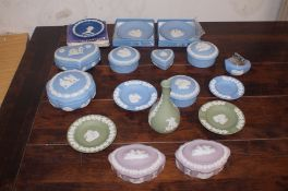 Collection of Wedgwood jasper ware & others