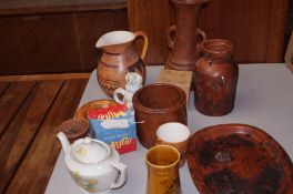 Collection of studio pottery & others
