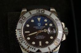 Gents Pagain explorer automatic wristwatch