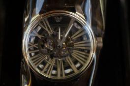 Gents Emporio Armani skeleton wristwatch as new wi