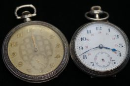 2 Art deco pocket watches