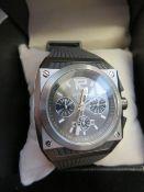 Breil wristwatch, currently ticking