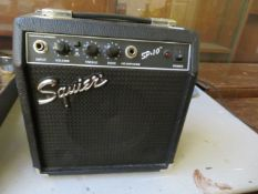 A squire amplifier