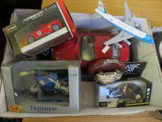 A small box of Models