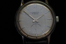 Gents Wehrmachtswerk wristwatch, currently ticking
