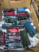 Collection of Model Train Engines