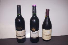 2003 Eagle Hawk Shiraz Merlot Cabernet, 2006 Clare