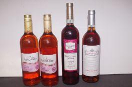 4 Bottles of Rose Wine (Unopened)
