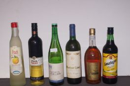 6 Bottles of Mixed Unopened Wines and others