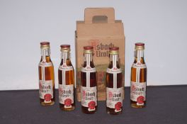 5 Miniature Bottles of Unopened Asbach Uralt Brand