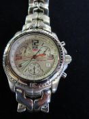 Gents Tag Heuer chronograph wristwatch, currently