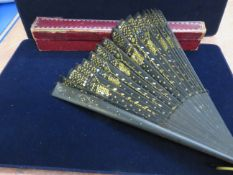 Oriental boxed fan