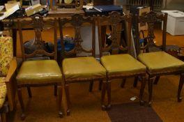 4 x Edwardian Chairs