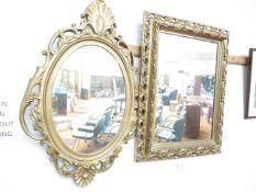 2 x Guild framed Mirrors